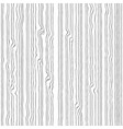 white wood texture seamles background vector image