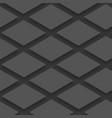 dark gray empty squares cards mockup vector image vector image