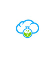 lab weather and season logo icon design vector image vector image