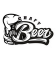 monochrome with calligraphic vector image vector image