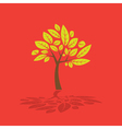 Tree and leaf graphic vector | Price: 1 Credit (USD $1)