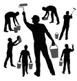 working painter vector image vector image