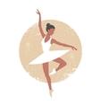 Ballerina2 vector image