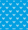best education pattern seamless blue vector image vector image