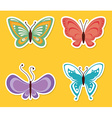 Butterfly design vector image vector image