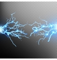 Electric lighting effect EPS 10 vector image vector image