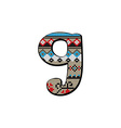 g letter small vector image vector image