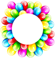 multicolored inflatable celebration bright