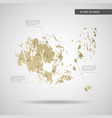 stylized aland islands map vector image vector image