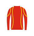thermo clothes icon flat style vector image vector image