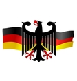 symbols of germany vector image