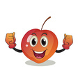 A smiling fruit vector image vector image