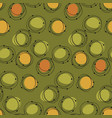 atomic age 50s vibes concept seamless pattern vector image vector image