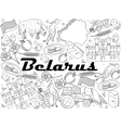 Belarus Coloring vector image vector image