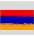 Grunge Flag of Armenia vector image vector image