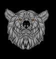head bear vector image vector image