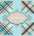Invitation card retro