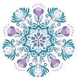 Mandala Papua vector image