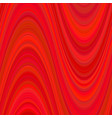 red abstract wave background from curved stripes vector image vector image