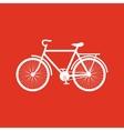 The bike icon Bicycle symbol Flat