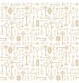 vintage keys seamless pattern background for vector image