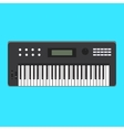 Analog synthesizer icon of vector image vector image