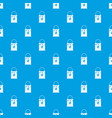 bucket with paint pattern seamless blue vector image vector image