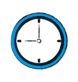 business clock office time element vector image vector image