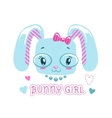 Cute girlish for baby girl vector image vector image