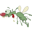 Green insect Cartoon vector image vector image