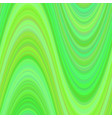 green wavy background from curved stripes vector image vector image