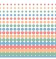 halftone seamless vector image vector image