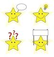 Little stars vector image