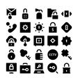 Security Icons 2 vector image vector image