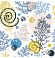 trendy winter background cypress seamless pattern vector image