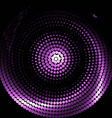 Violet abstract swirl background vector image