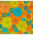 Abstract Seamless pattern Floral background vector image vector image