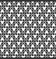abstract seamless pattern symmetric geometric vector image vector image