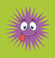 cute infection vector image vector image