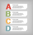 Infographic elements vector image vector image
