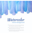 Watercolor Blue and Purple Background vector image vector image