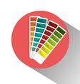 Pantone colors graphic vector image