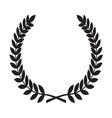 Laurel Wreath icon1 resize vector image