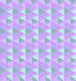 Abstract geometric background in purple tone vector image vector image