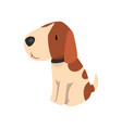 beagle dog cute funny animal cartoon character vector image vector image
