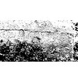 Black and white grunge texture abstract vector image