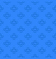 blockchain blue pattern - seamless texture vector image vector image