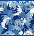 camouflage seamless pattern abstract modern vector image vector image