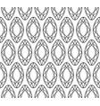 diamond seamless pattern line sketch doodle vector image vector image