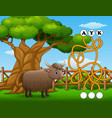 game yak maze find way to the word vector image vector image